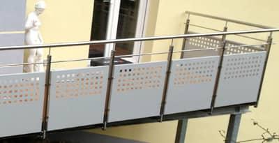 Terrassen & Terrassenbau von Metallbau & Zaunbau Häusler
