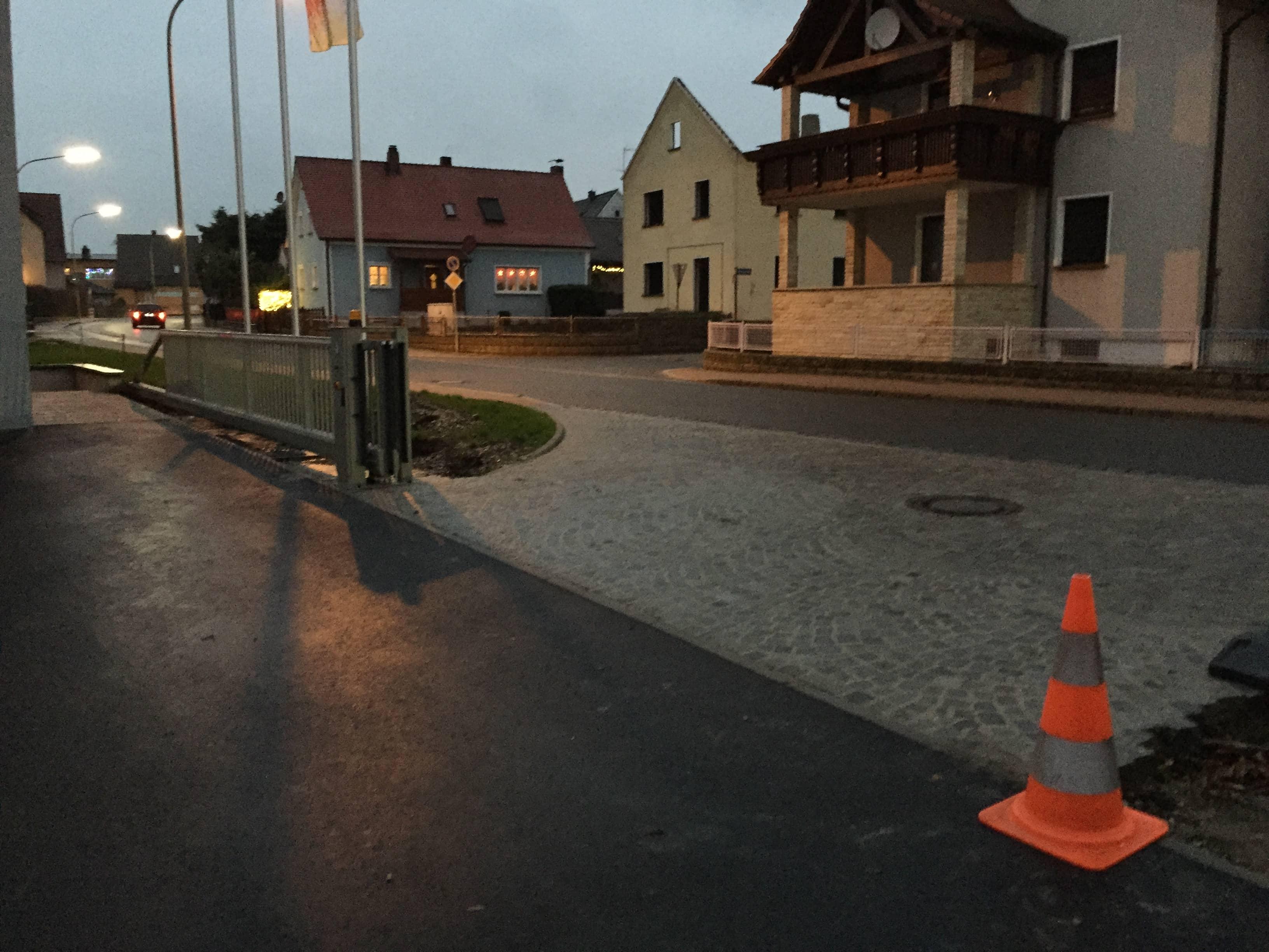 Industrie-Schiebetor von Metallbau & Zaunbau Häusler