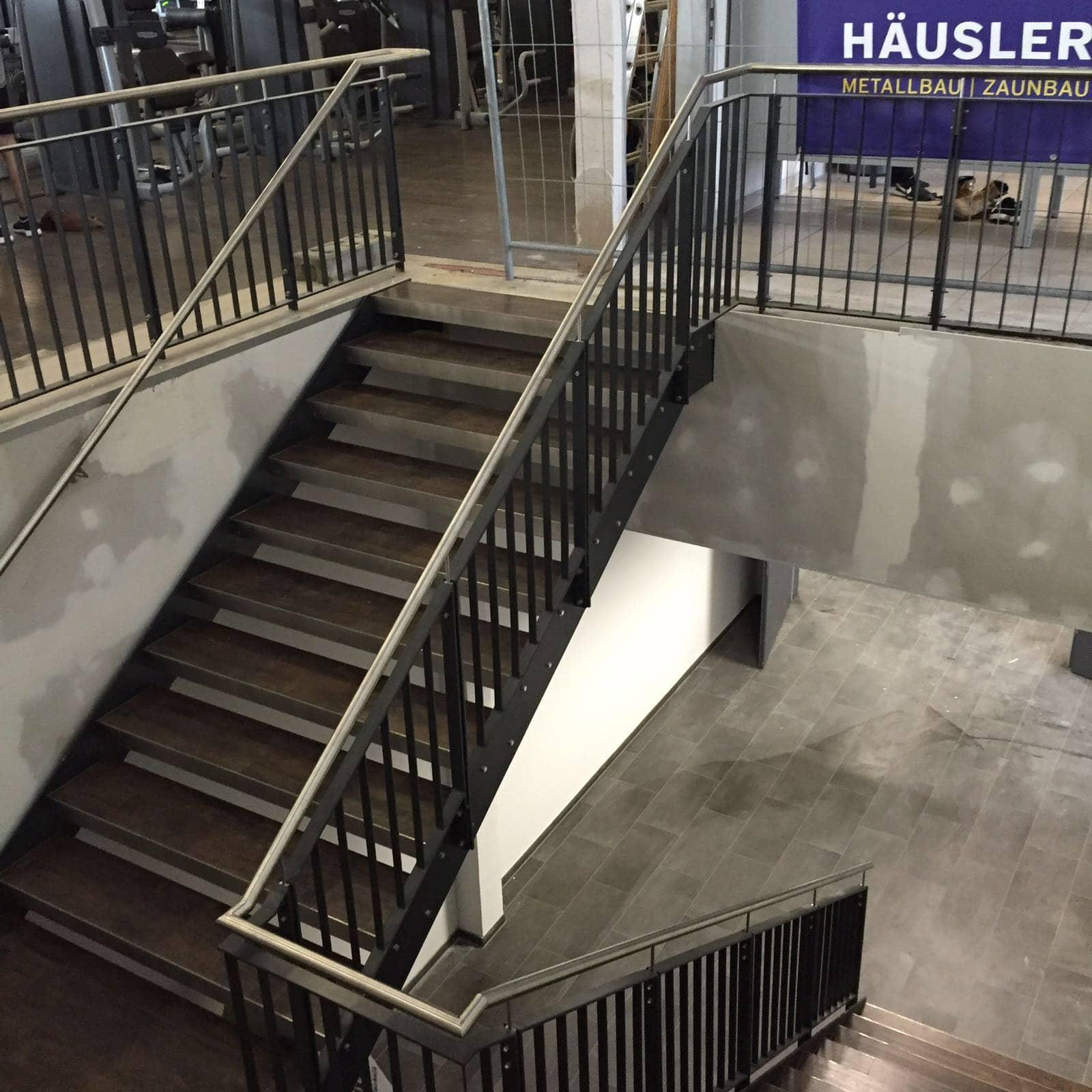 Innentreppe aus Metall ixmal Würzburg